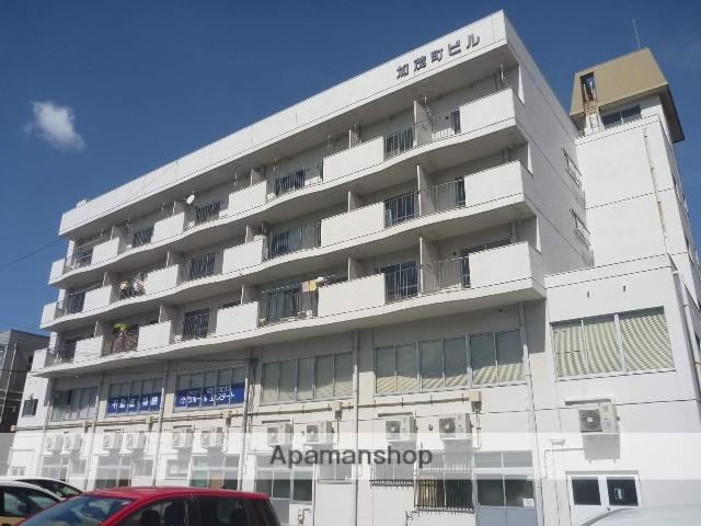 鳥取県米子市、米子駅徒歩10分の築40年 5階建の賃貸マンション