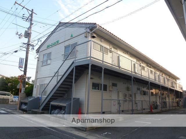 鳥取県米子市、博労町駅徒歩8分の築22年 2階建の賃貸アパート