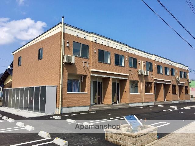 鳥取県境港市、上道駅徒歩15分の新築 2階建の賃貸アパート