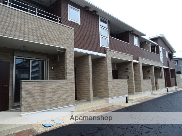 鳥取県米子市、米子駅バス14分ユニサン前下車後徒歩4分の新築 2階建の賃貸アパート