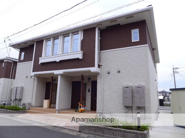 鳥取県米子市、伯耆大山駅日本交通バス3分 佐陀入口下車後徒歩10分の新築 2階建の賃貸アパート