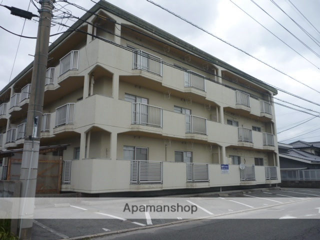 鳥取県米子市、三本松口駅徒歩13分の築37年 3階建の賃貸マンション