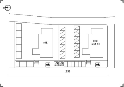 ツインパレス A[3LDK/68.25m2]の配置図