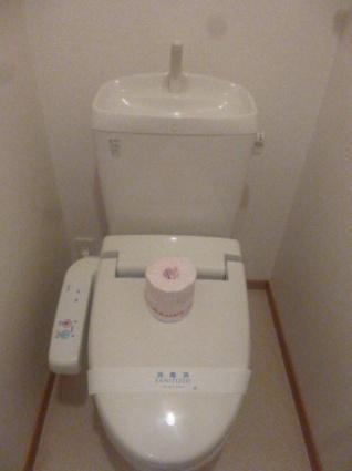 グランソレイユA[2LDK/65.37m2]のトイレ