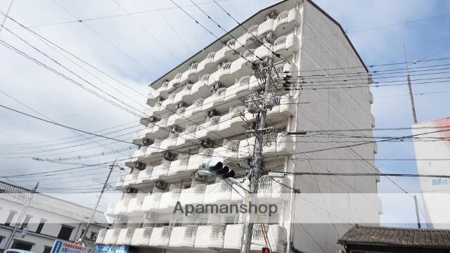 島根県松江市、松江駅徒歩7分の築28年 8階建の賃貸マンション