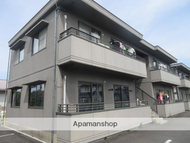 島根県雲南市の築17年 2階建の賃貸アパート