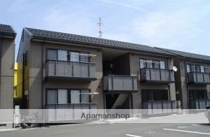 島根県松江市、玉造温泉駅徒歩2分の築15年 2階建の賃貸アパート