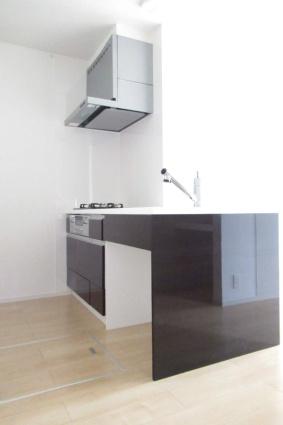 ドミールⅡ[1LDK/50.42m2]のキッチン