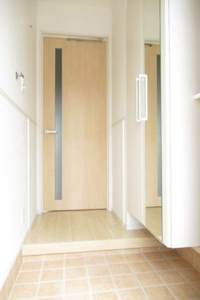 ドミールⅡ[1LDK/50.42m2]の玄関