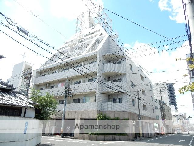 岡山県岡山市北区、岡山駅徒歩11分の築28年 9階建の賃貸マンション