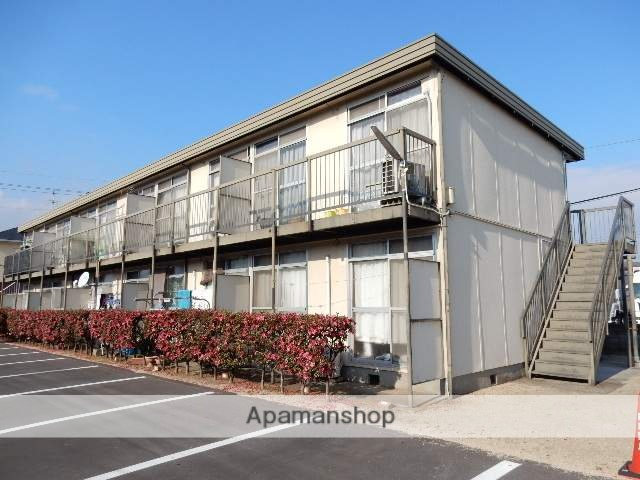 岡山県岡山市南区、備前西市駅徒歩37分の築40年 2階建の賃貸アパート