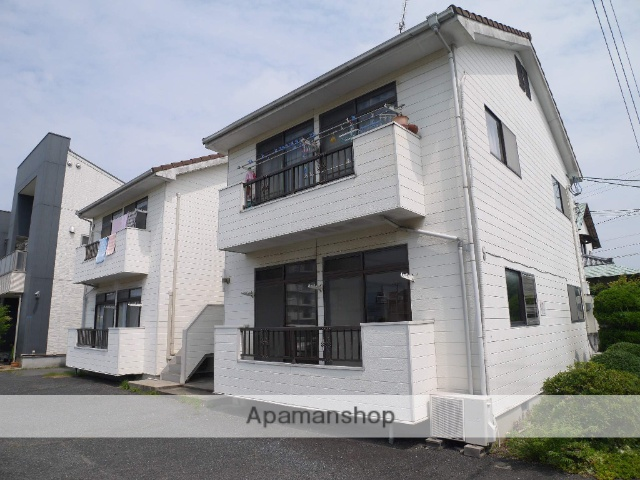 岡山県岡山市北区、備前西市駅徒歩25分の築27年 2階建の賃貸アパート