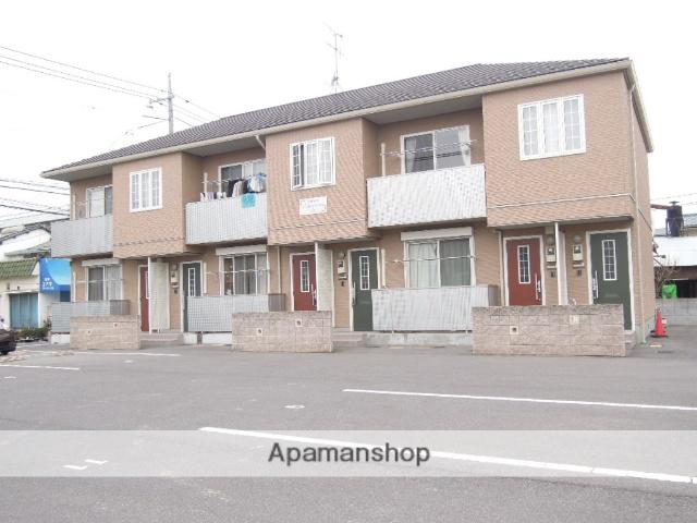 岡山県岡山市北区、備前一宮駅徒歩1分の築7年 2階建の賃貸アパート