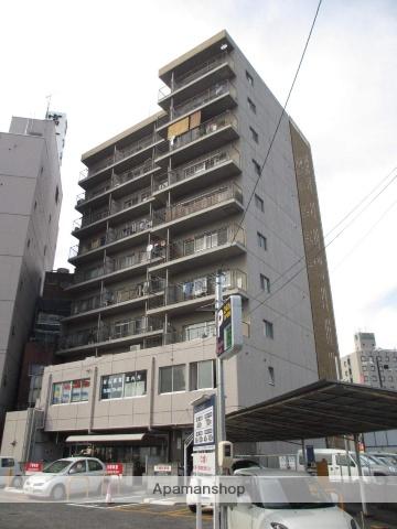 岡山県岡山市北区、岡山駅徒歩22分の築38年 10階建の賃貸マンション