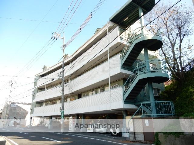 岡山県岡山市中区、中納言駅徒歩15分の築30年 4階建の賃貸マンション