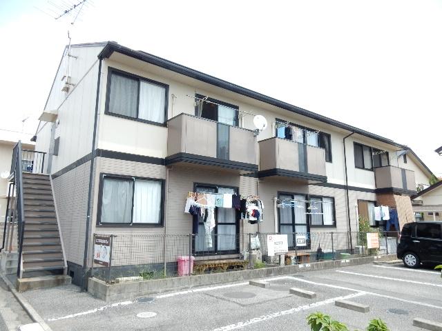 岡山県岡山市中区、東岡山駅徒歩27分の築19年 2階建の賃貸アパート