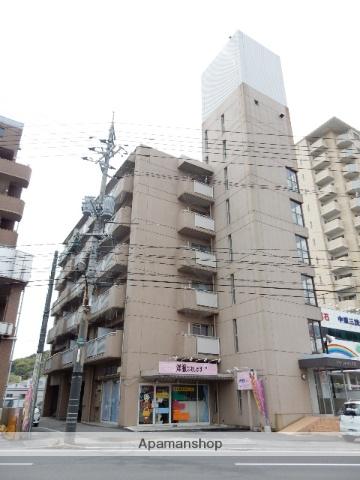 岡山県岡山市北区、備前三門駅徒歩25分の築31年 6階建の賃貸マンション