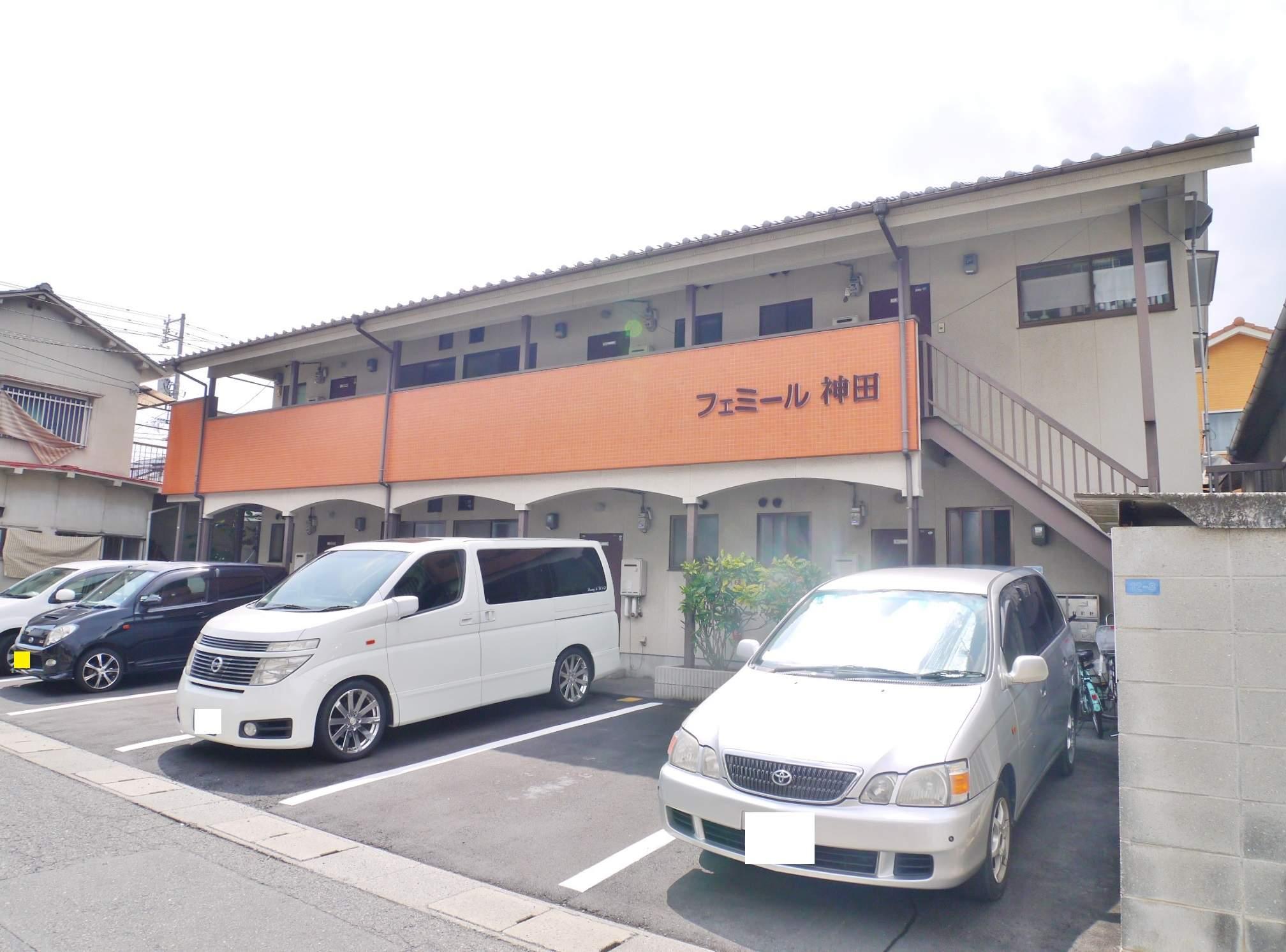 岡山県岡山市北区、大元駅徒歩20分の築28年 2階建の賃貸アパート