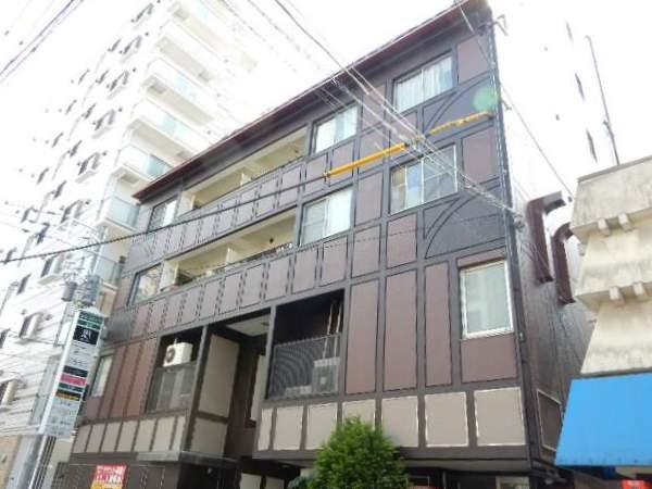 岡山県岡山市北区、岡山駅徒歩22分の築34年 6階建の賃貸マンション