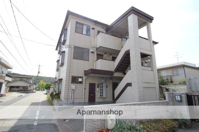 岡山県岡山市北区、岡山駅徒歩36分の築27年 3階建の賃貸マンション