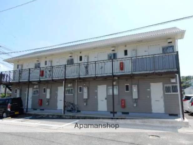 岡山県岡山市北区、備前原駅徒歩10分の築27年 2階建の賃貸アパート