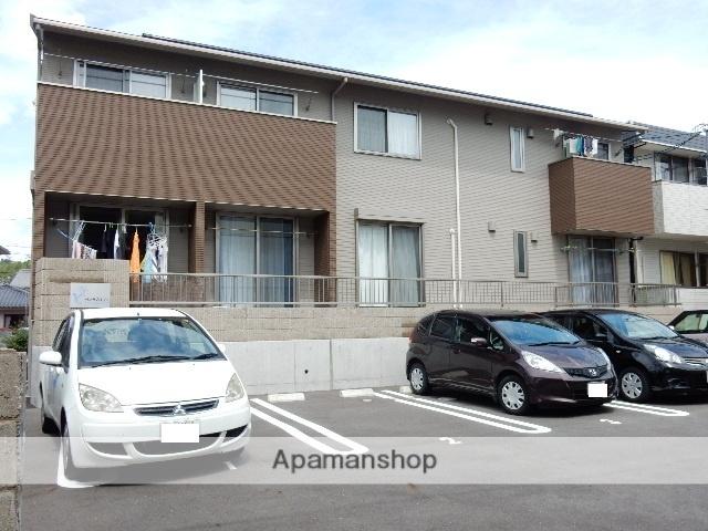岡山県玉野市、八浜駅バスバス30分玉野浄化センター下車後徒歩3分の築2年 2階建の賃貸アパート