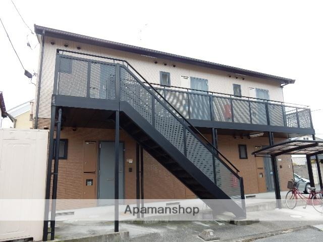 岡山県岡山市北区、岡山駅徒歩12分の築17年 2階建の賃貸アパート
