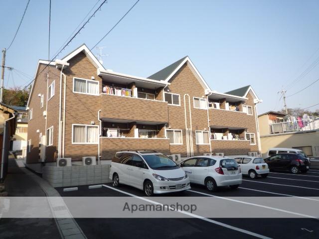 岡山県岡山市南区、妹尾駅徒歩10分の築7年 2階建の賃貸アパート