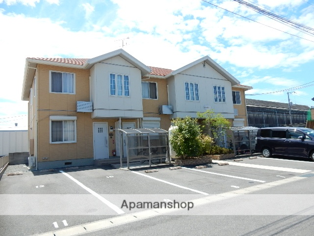 岡山県岡山市北区、北長瀬駅徒歩28分の築8年 2階建の賃貸アパート