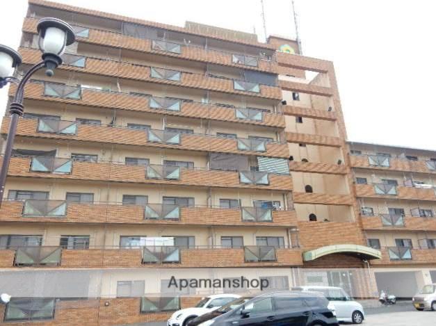 岡山県岡山市中区、中納言駅徒歩18分の築20年 8階建の賃貸マンション
