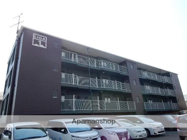 岡山県岡山市北区、北長瀬駅徒歩40分の築24年 4階建の賃貸マンション