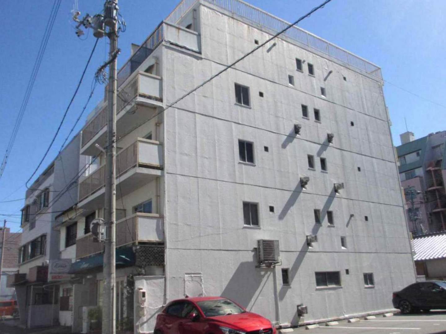 岡山県岡山市北区、岡山駅徒歩15分の築43年 6階建の賃貸マンション