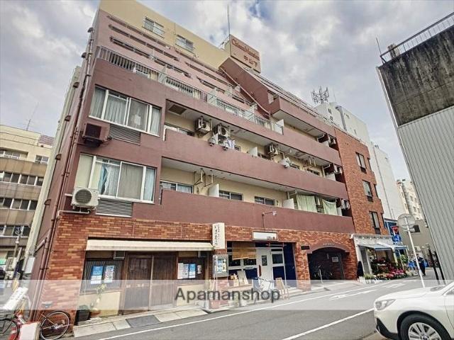 岡山県岡山市北区、岡山駅徒歩13分の築35年 7階建の賃貸マンション