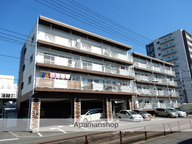 岡山県岡山市北区、岡山駅徒歩10分の築28年 4階建の賃貸マンション