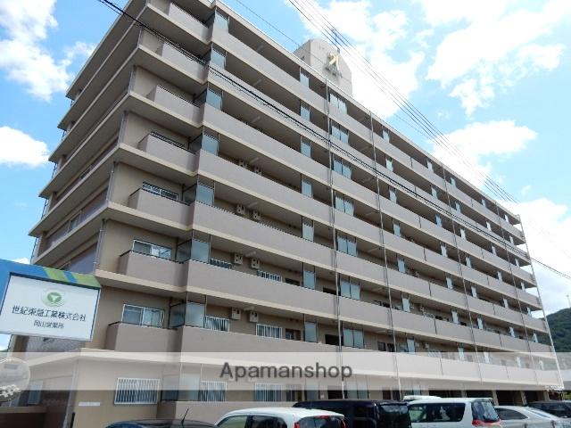 岡山県岡山市北区、岡山駅徒歩58分の築24年 8階建の賃貸マンション