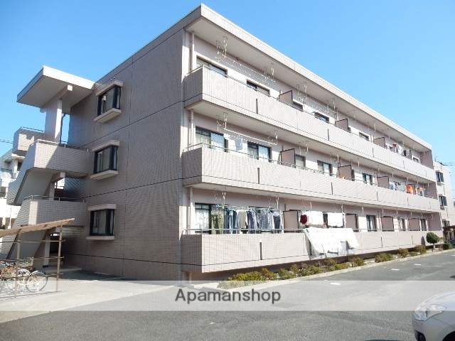 岡山県岡山市北区、北長瀬駅徒歩13分の築22年 3階建の賃貸マンション