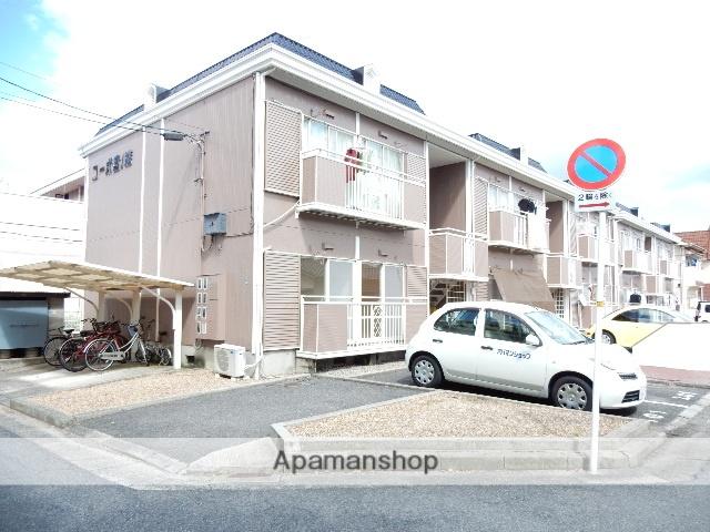 岡山県岡山市北区、大元駅徒歩29分の築29年 2階建の賃貸アパート