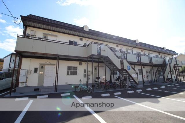 岡山県岡山市中区、高島駅徒歩11分の築28年 2階建の賃貸アパート