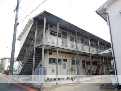 岡山県岡山市南区、中納言駅徒歩73分の築43年 2階建の賃貸アパート