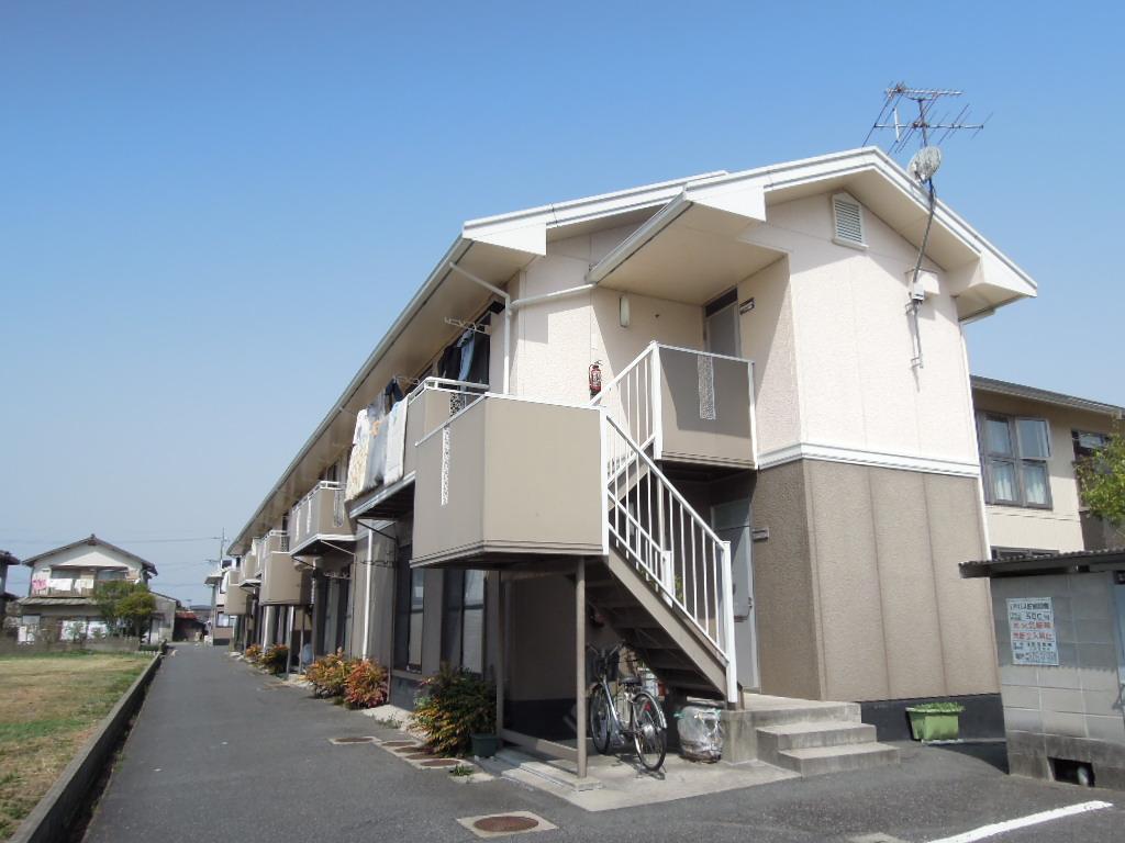 岡山県玉野市、八浜駅徒歩49分の築22年 2階建の賃貸アパート