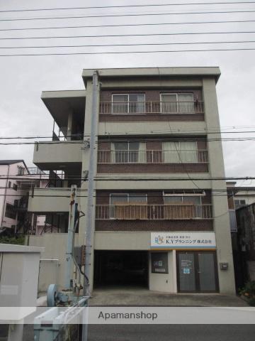 岡山県岡山市北区、岡山駅徒歩20分の築42年 4階建の賃貸マンション