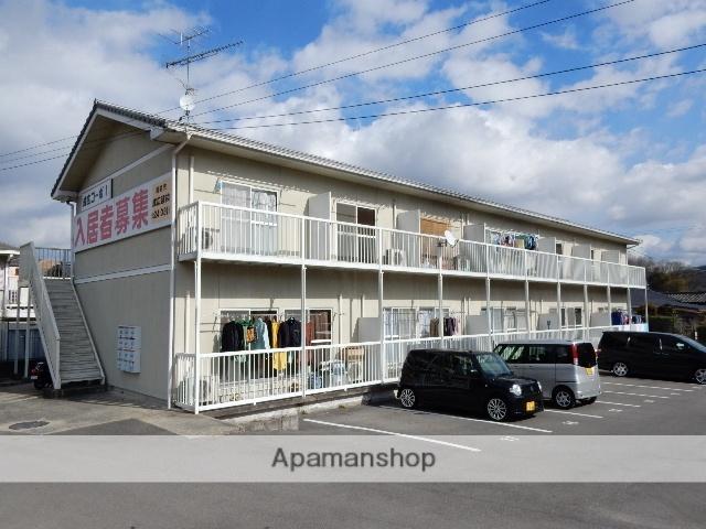 岡山県岡山市北区、金川駅徒歩20分の築20年 2階建の賃貸アパート