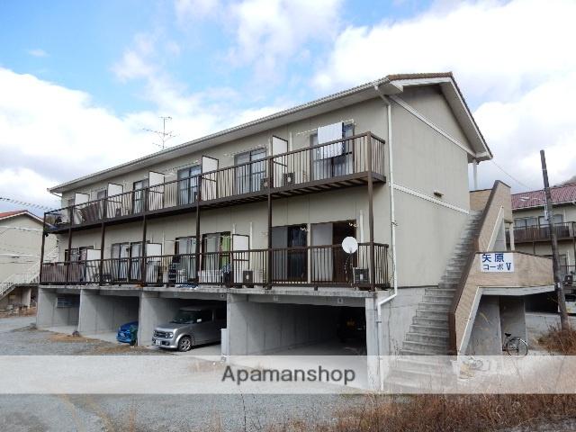 岡山県岡山市北区、金川駅徒歩20分の築10年 2階建の賃貸アパート
