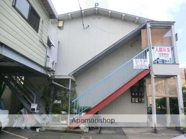 岡山県岡山市北区、田町駅徒歩9分の築35年 2階建の賃貸アパート
