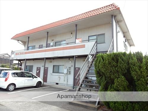 岡山県岡山市北区、北長瀬駅徒歩18分の築35年 2階建の賃貸アパート