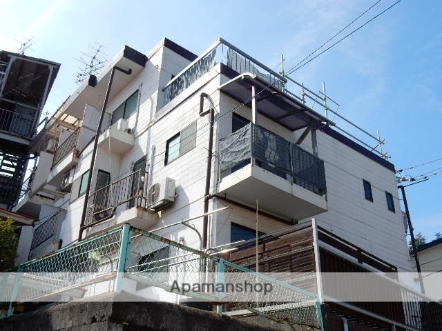 岡山県玉野市、宇野駅徒歩17分の築19年 3階建の賃貸アパート