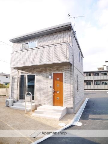 岡山県玉野市、八浜駅徒歩2分の新築 2階建の賃貸一戸建て