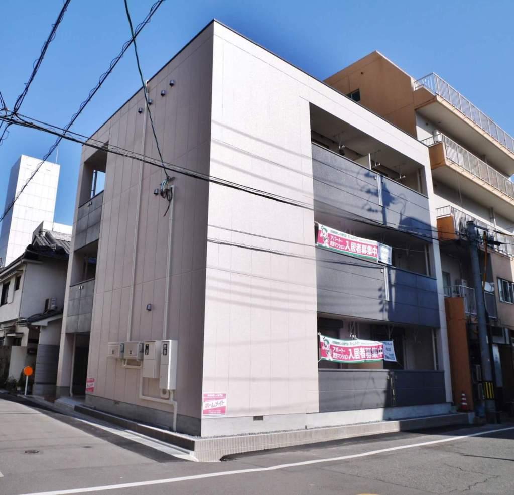 岡山県岡山市北区、岡山駅前駅徒歩10分の新築 3階建の賃貸マンション