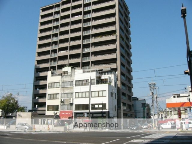 岡山県岡山市北区、柳川駅徒歩5分の築12年 14階建の賃貸マンション