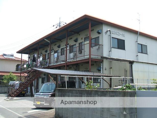 岡山県岡山市南区、八浜駅徒歩80分の築33年 2階建の賃貸アパート
